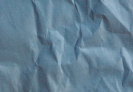 blue crinkled paper texture useful as a background