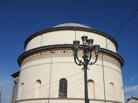 Church of La Gran Madre in Turin, Italy