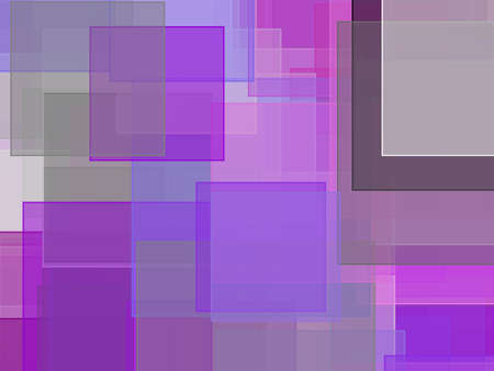 Abstract minimalist violet grey illustration with squares useful as a background