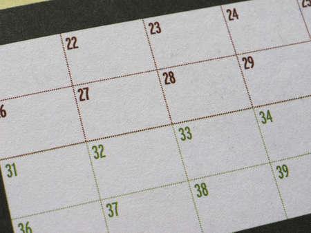 Blank paper fidelity card for loyalty program Stockfoto