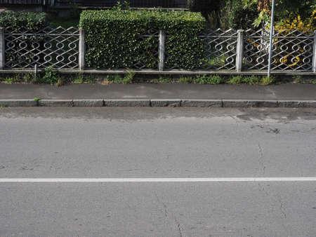 sanitation of pavement (sidewalk) against covid-19 coronavirus