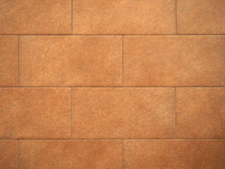 brown tiled floor tiles useful as a background