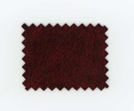 brown leatherette (aka faux leather) swatch sample