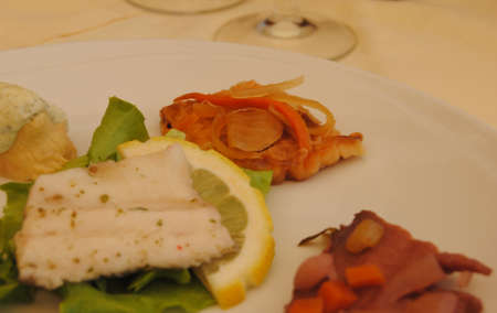 spezia: Mix fish aperitizer