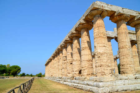 Greek temples of Paestum - 1 of 20 Stock Photo - 21722587