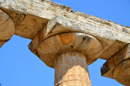 Greek temples of Paestum - 1 of 20 Stock Photo - 21722588