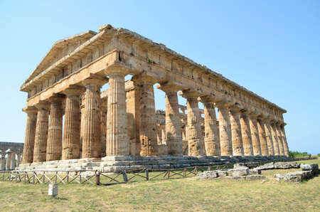 Greek temples of Paestum - 1 of 20 Stock Photo - 21722729