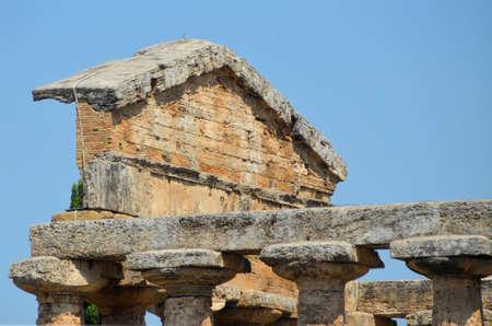 agrigento: Greek temples of Paestum - 1 of 20 Stock Photo