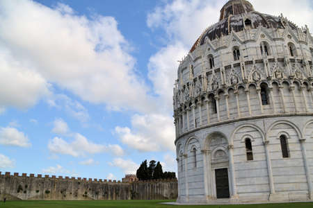Baptistery of St. John - Square of Miracles - (Pisa) photo