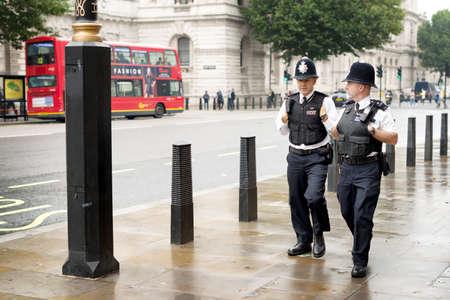 constable: LONDON OCTOBER 2013 - Two metropolitan police