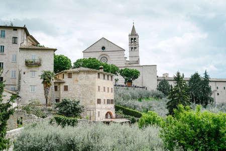 st  francis: Assisi, the church of Santa Chiara