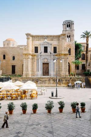 palermo   italy: Church of Martorana - Palermo, Italy