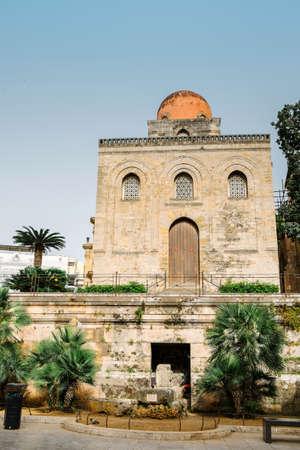 palermo   italy: San Cataldo Church - Palermo Italy Stock Photo
