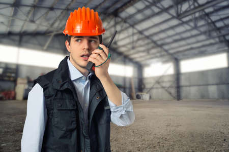 young engineer: young engineer Stock Photo