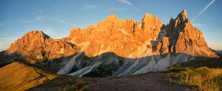 Dolomites, Pale di San Martino. Italy