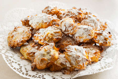 patisserie: Homemade Corn Flakes Cookies Stock Photo