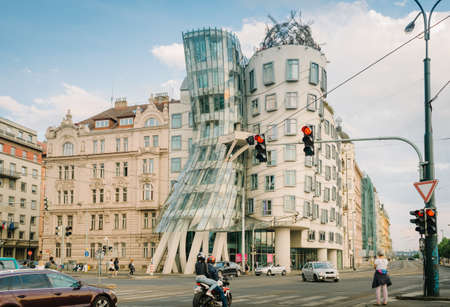 Prague, Czech Republic - 22 May 2018: Dancing House