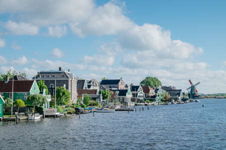 Zaanse Schans views - Netherlands Editorial