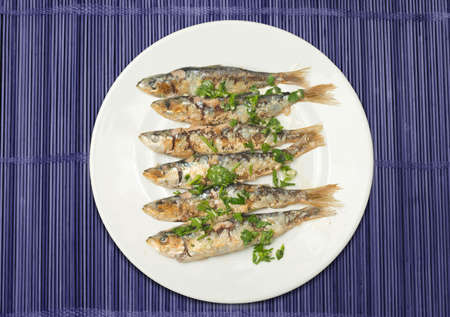 fished: sardines to the grill
