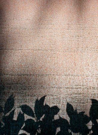 oxidize: Background texture oxidice iron and vegetation silhouettes Stock Photo