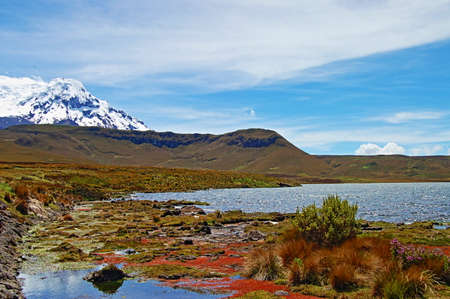 Panoramic view of Andes