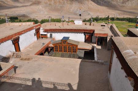 tibetan house: Chemdey gompa, Buddhist monastery in Ladakh