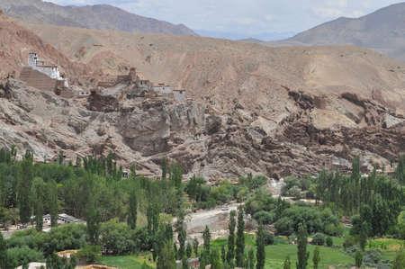 ladakh: Basgo Monastery, Leh ladakh
