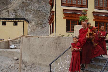 monastery: Monks in Rizong monastery
