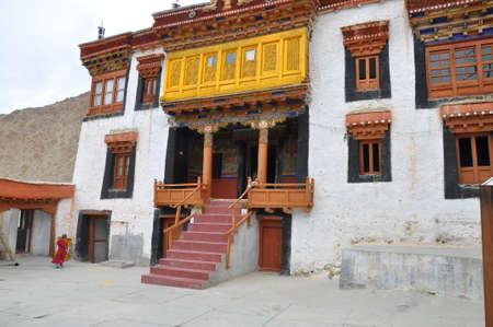 monastery: Likir Monastery Stock Photo