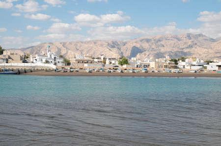 sur: Sur Harbor Oman Stock Photo