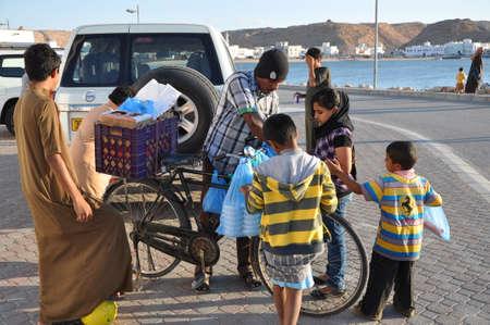 oman: People in Sur Oman Editorial