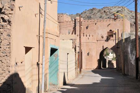 oman: abandoned Village Sultanate of Oman