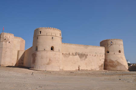 oman: Fort Nakhl Sultanate of Oman