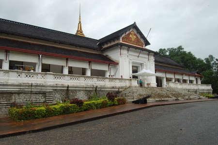laotian: Royal Palace Haw kham of the National museum complex of Luang Prabang, Laos.