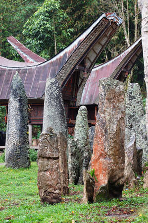 megaliths: Ceremony site with megaliths Stock Photo