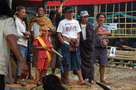 ordenanza: Grupo de personas que asistieron a la ceremonia del funeral