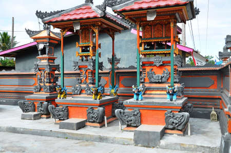 sulawesi: Temple near Singkang, Sulawesi