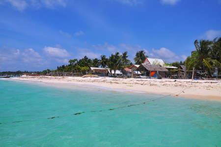 sulawesi: Beautiflul beach in Bira, Sulawesi , Indonesia Stock Photo