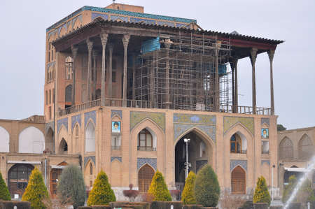 Ali Qapu Palace on Naqsh-e Jahan Square in Isfahan, Iran