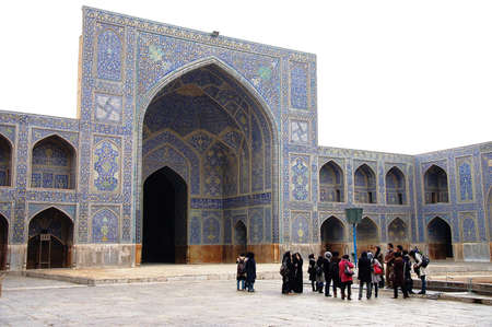 Jame mosque in Esfahan Editorial