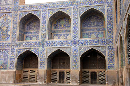 esfahan: Jame mosque in Esfahan Stock Photo