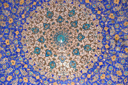 Jame mosque in Esfahan Stock Photo