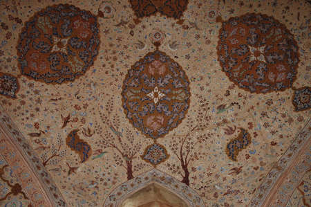 Exquisite Details of the Music Hall inside Ali Qapu Palace
