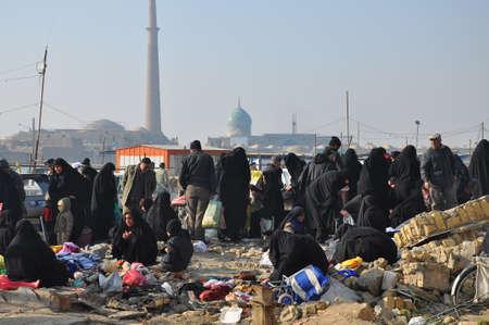 Traditional iranian market (Bazaar) Editorial