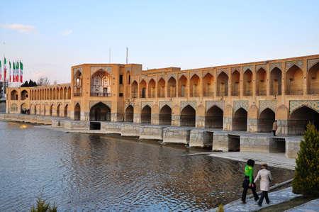 mideast: Khaju-Bridge in Esfahan, Iran