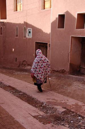 Traditional muslim iranian people