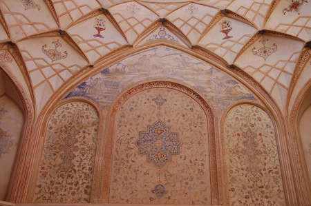 Tabatabaei House, a historic house in Kashan, Iran