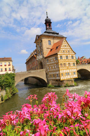 The old City Hall of Bamberg