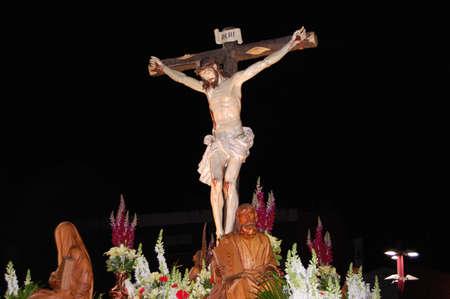 procession: Marchando Cristo en procesi�n