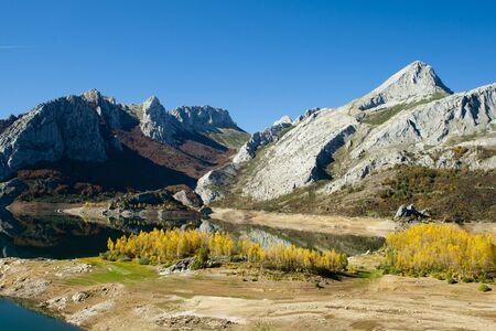 Scenic mountains landscape Stock Photo